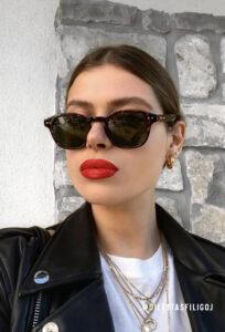 Рециклирани слънчеви очила SANZA TIGRIS OLIVE