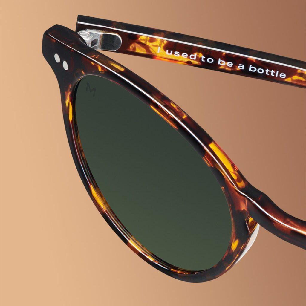Рециклирани слънчеви очила SIKA TIGRIS OLIVE